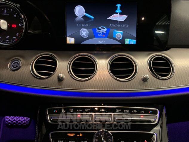 Mercedes Classe E 220 d 9G-Tronic 4-Matic Executive GRIS Occasion - 13