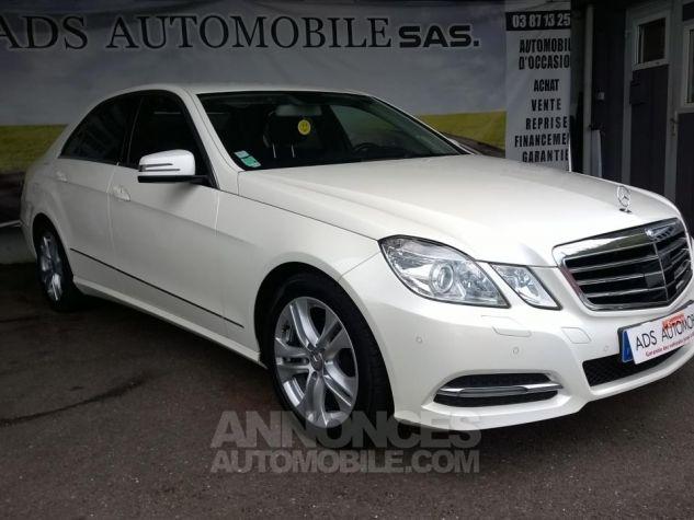 Mercedes Classe E 220CDI AVANTGARDE EXECUTIVE Blanc Occasion - 0