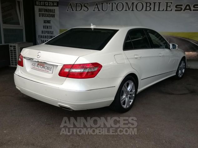 Mercedes Classe E 220CDI AVANTGARDE EXECUTIVE Blanc Occasion - 1