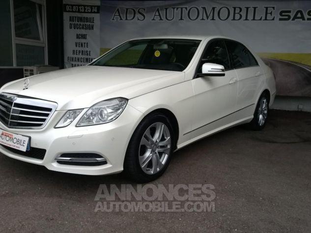 Mercedes Classe E 220CDI AVANTGARDE EXECUTIVE Blanc Occasion - 2