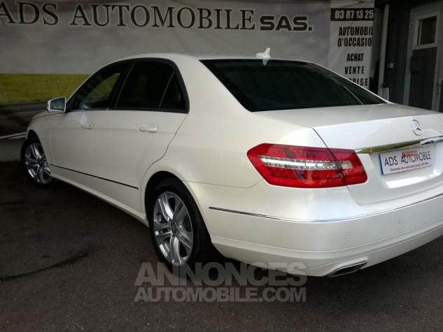 Mercedes Classe E 220CDI AVANTGARDE EXECUTIVE Blanc Occasion - 3