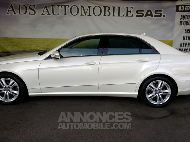 Mercedes Classe E 220CDI AVANTGARDE EXECUTIVE Blanc Occasion - 11