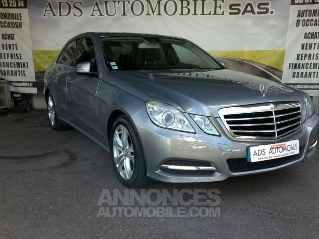 Mercedes Classe E 250 CDI BLUEEFFICIENCY Avantgarde Executive A Gris Occasion - 0