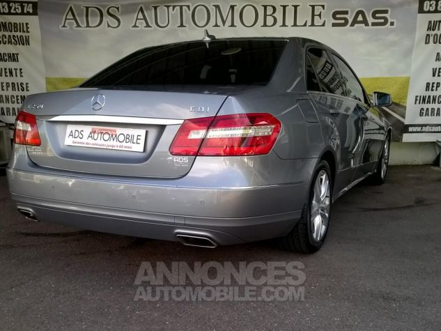 Mercedes Classe E 250 CDI BLUEEFFICIENCY Avantgarde Executive A Gris Occasion - 1