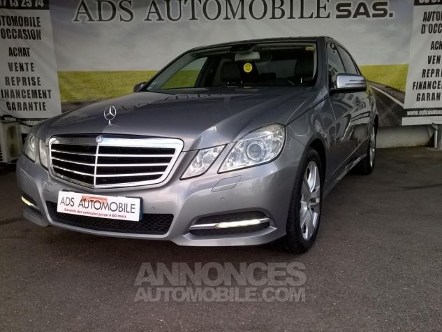 Mercedes Classe E 250 CDI BLUEEFFICIENCY Avantgarde Executive A Gris Occasion - 2