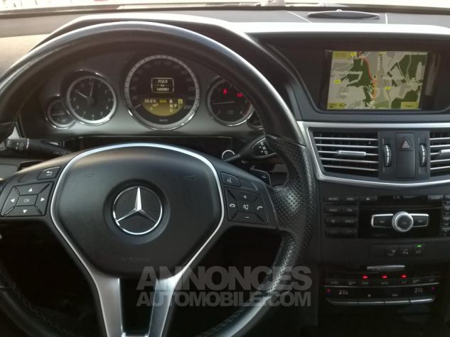 Mercedes Classe E 250 CDI BLUEEFFICIENCY Avantgarde Executive A Gris Occasion - 7