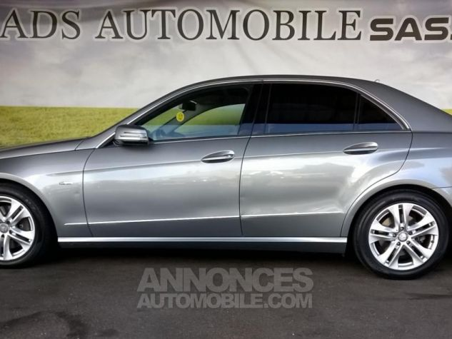 Mercedes Classe E 250 CDI BLUEEFFICIENCY Avantgarde Executive A Gris Occasion - 9