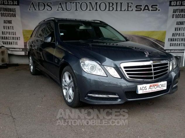 Mercedes Classe E 250 CDI BLUEEFFICIENCY Avantgarde Executive A Gris Occasion - 0