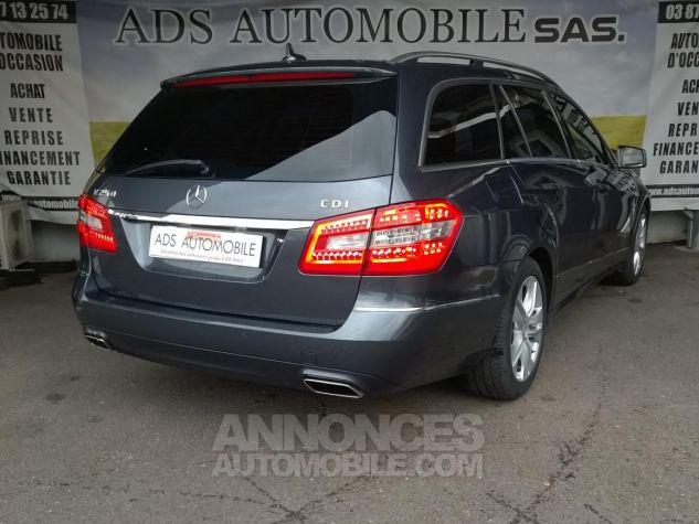 Mercedes Classe E 250 CDI BLUEEFFICIENCY Avantgarde Executive A Gris Occasion - 1