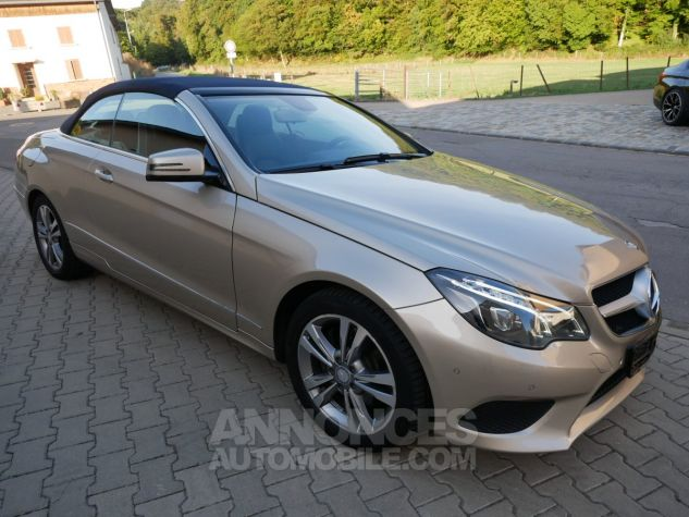Mercedes Classe E 250 CDi Cabriolet 7G-Tronic, Caméra, COMAND, Pack Mémoire, LED ILS Argent Aragonite métallisé Occasion - 2