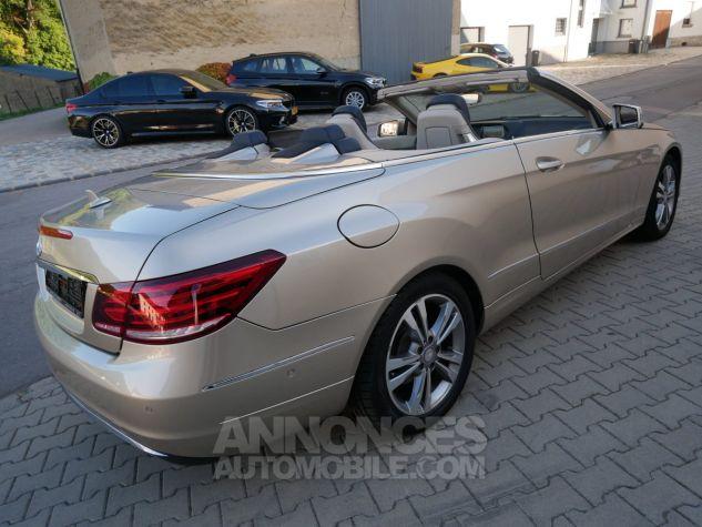 Mercedes Classe E 250 CDi Cabriolet 7G-Tronic, Caméra, COMAND, Pack Mémoire, LED ILS Argent Aragonite métallisé Occasion - 3
