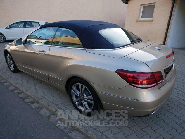 Mercedes Classe E 250 CDi Cabriolet 7G-Tronic, Caméra, COMAND, Pack Mémoire, LED ILS Argent Aragonite métallisé Occasion - 4