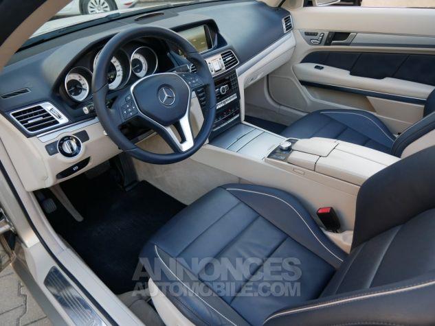Mercedes Classe E 250 CDi Cabriolet 7G-Tronic, Caméra, COMAND, Pack Mémoire, LED ILS Argent Aragonite métallisé Occasion - 5