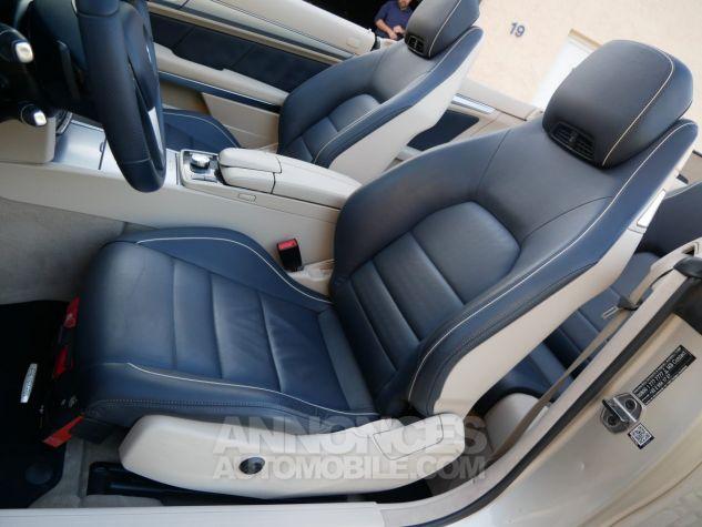 Mercedes Classe E 250 CDi Cabriolet 7G-Tronic, Caméra, COMAND, Pack Mémoire, LED ILS Argent Aragonite métallisé Occasion - 7