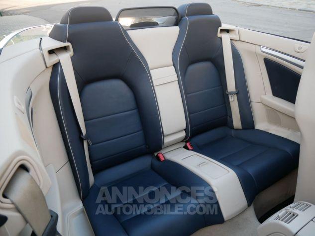 Mercedes Classe E 250 CDi Cabriolet 7G-Tronic, Caméra, COMAND, Pack Mémoire, LED ILS Argent Aragonite métallisé Occasion - 10