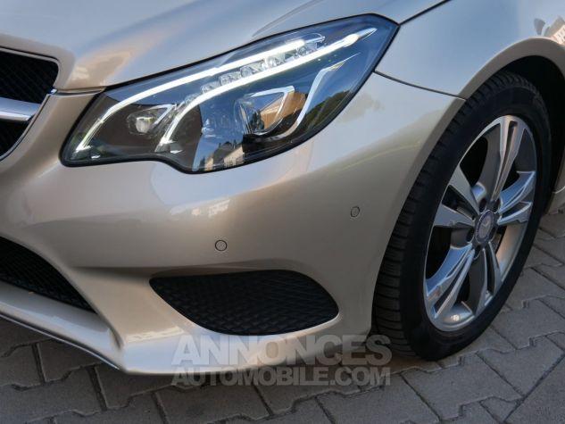 Mercedes Classe E 250 CDi Cabriolet 7G-Tronic, Caméra, COMAND, Pack Mémoire, LED ILS Argent Aragonite métallisé Occasion - 11