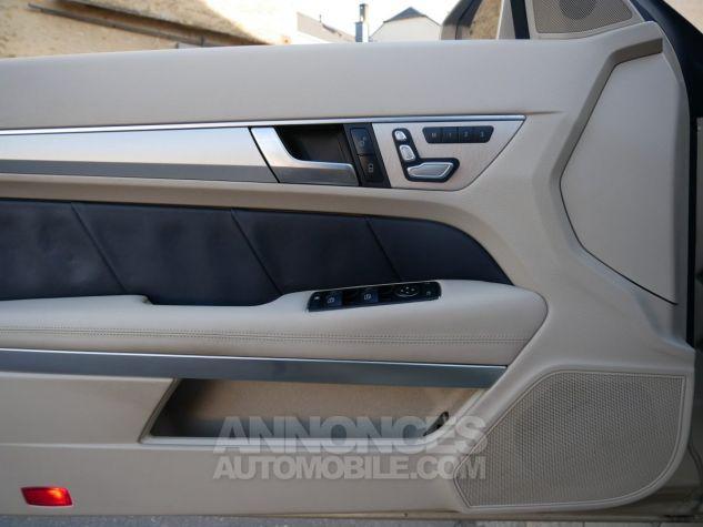 Mercedes Classe E 250 CDi Cabriolet 7G-Tronic, Caméra, COMAND, Pack Mémoire, LED ILS Argent Aragonite métallisé Occasion - 15