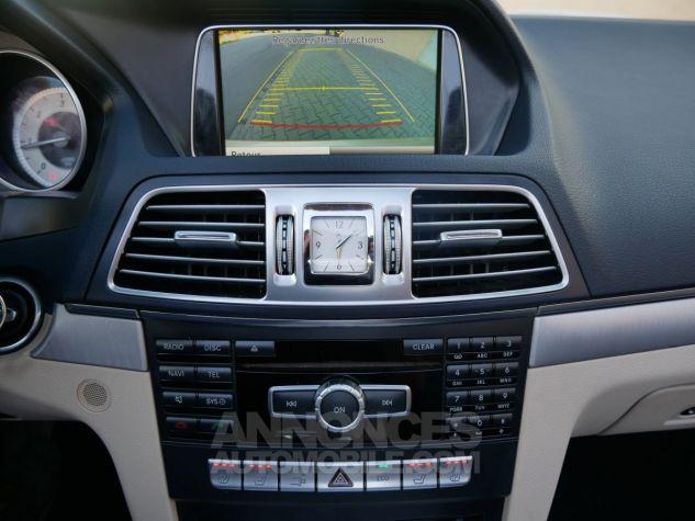 Mercedes Classe E 250 CDi Cabriolet 7G-Tronic, Caméra, COMAND, Pack Mémoire, LED ILS Argent Aragonite métallisé Occasion - 17