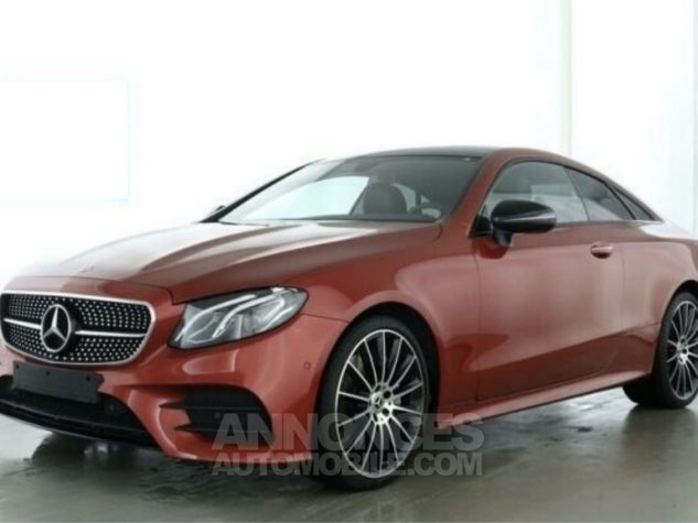 Mercedes Classe E 300 AMG 245 ch / Pano/ Burmester / Wide screen/ P.Night Rouge Occasion - 1