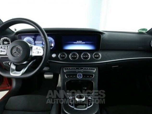 Mercedes Classe E 300 AMG 245 ch / Pano/ Burmester / Wide screen/ P.Night Rouge Occasion - 3