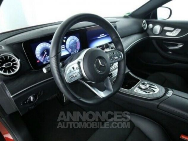 Mercedes Classe E 300 AMG 245 ch / Pano/ Burmester / Wide screen/ P.Night Rouge Occasion - 5