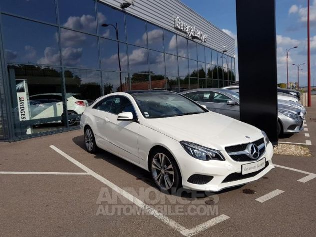Mercedes Classe E 350 BlueTEC Fascination 7GTronic+ Blanc diamant Occasion - 0