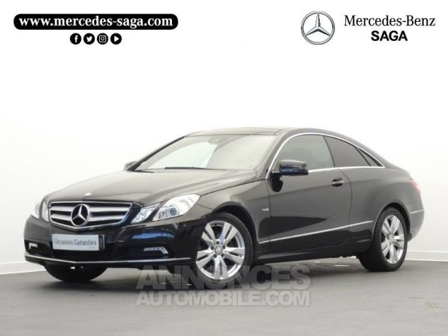 Mercedes Classe E 350 CDI Executive BE BA Noir Obsidienne Occasion - 0