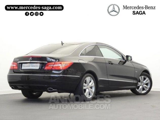 Mercedes Classe E 350 CDI Executive BE BA Noir Obsidienne Occasion - 1