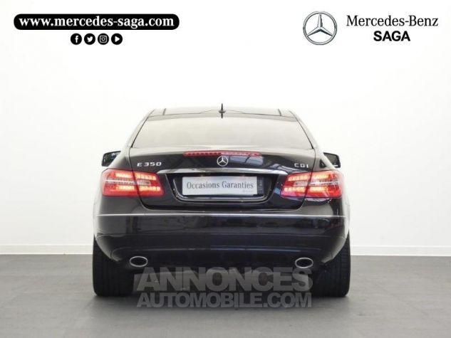 Mercedes Classe E 350 CDI Executive BE BA Noir Obsidienne Occasion - 7
