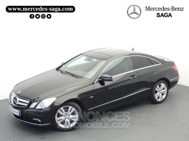 Mercedes Classe E 350 CDI Executive BE BA Noir Obsidienne Occasion - 18