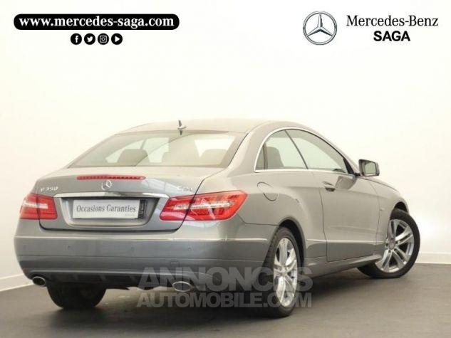 Mercedes Classe E 350 CDI Executive BE BA Argent Palladium Occasion - 1