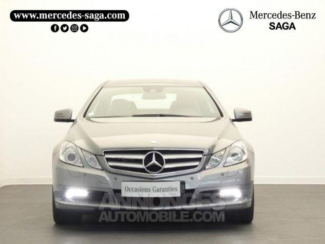 Mercedes Classe E 350 CDI Executive BE BA Argent Palladium Occasion - 4