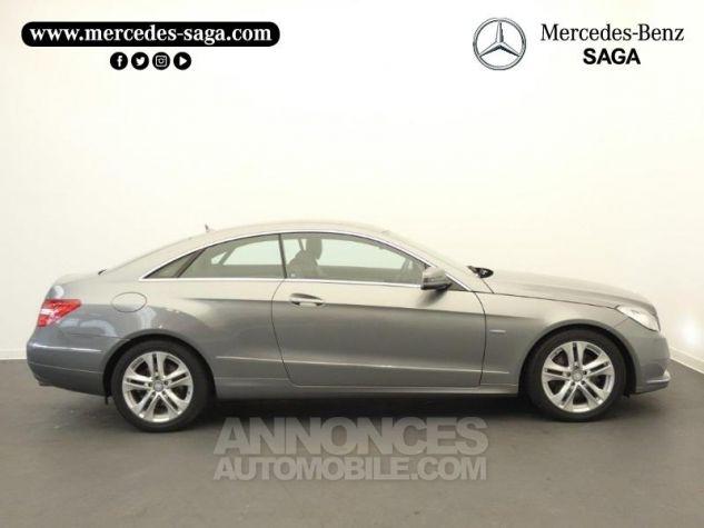 Mercedes Classe E 350 CDI Executive BE BA Argent Palladium Occasion - 5