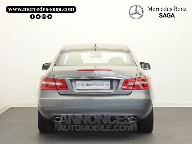 Mercedes Classe E 350 CDI Executive BE BA Argent Palladium Occasion - 6