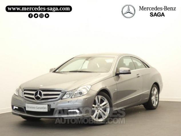 Mercedes Classe E 350 CDI Executive BE BA Argent Palladium Occasion - 0