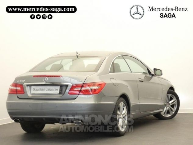 Mercedes Classe E 350 CDI Executive BE BA Argent Palladium Occasion - 1