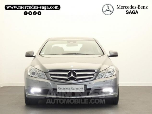 Mercedes Classe E 350 CDI Executive BE BA Argent Palladium Occasion - 4
