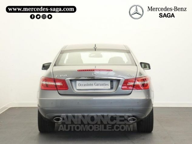 Mercedes Classe E 350 CDI Executive BE BA Argent Palladium Occasion - 6