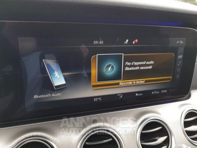 Mercedes Classe E 350 d 258ch Fascination 9G-Tronic NOIR OBSIDIENNE Occasion - 14