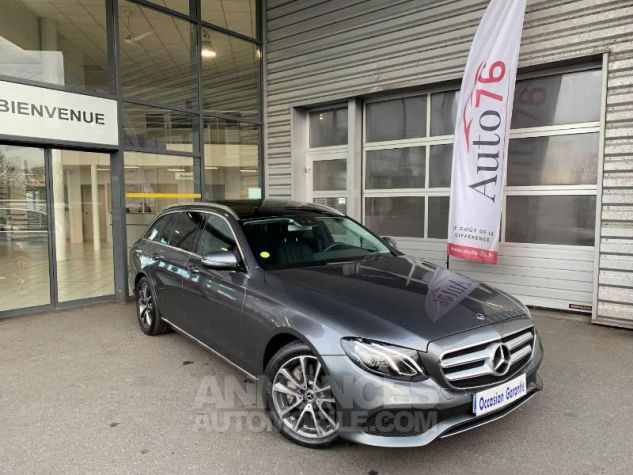 Mercedes Classe E 350 d 258ch Fascination 9G-Tronic Gris sélénite Occasion - 0