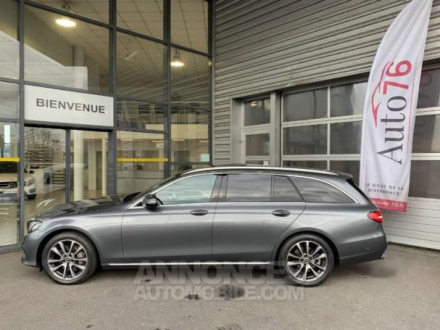 Mercedes Classe E 350 d 258ch Fascination 9G-Tronic Gris sélénite Occasion - 2