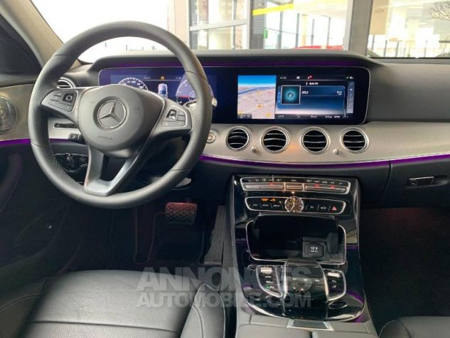 Mercedes Classe E 350 d 258ch Fascination 9G-Tronic Gris sélénite Occasion - 8