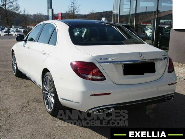 Mercedes Classe E 350 d 4 MATIC EXCLUSIVE  BLANC  Occasion - 5