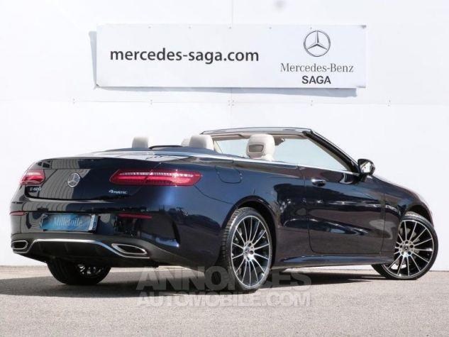 Mercedes Classe E 400 333ch Fascination 4Matic 9G-Tronic Bleu cavansite métallisé Occasion - 1