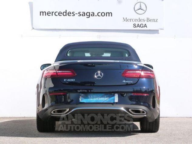 Mercedes Classe E 400 333ch Fascination 4Matic 9G-Tronic Bleu cavansite métallisé Occasion - 5