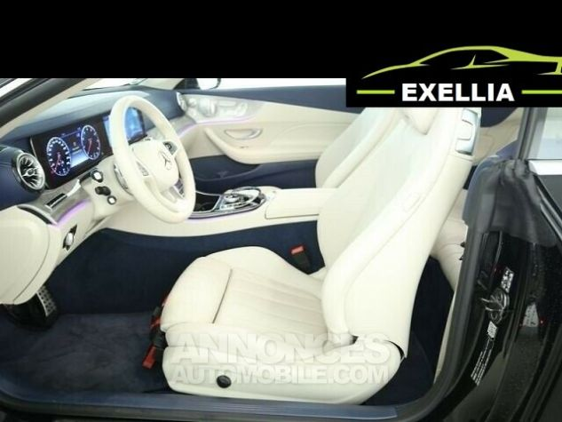 Mercedes Classe E 400 CABRIOLET 4 MATIC FASCINATION  NOIR Occasion - 2