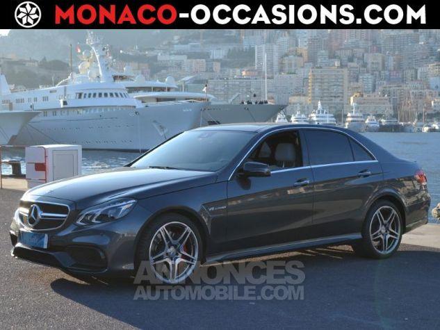 Mercedes Classe E 63 AMG S 4Matic 7G-Tronic Plus Gris Ténorite Occasion - 0