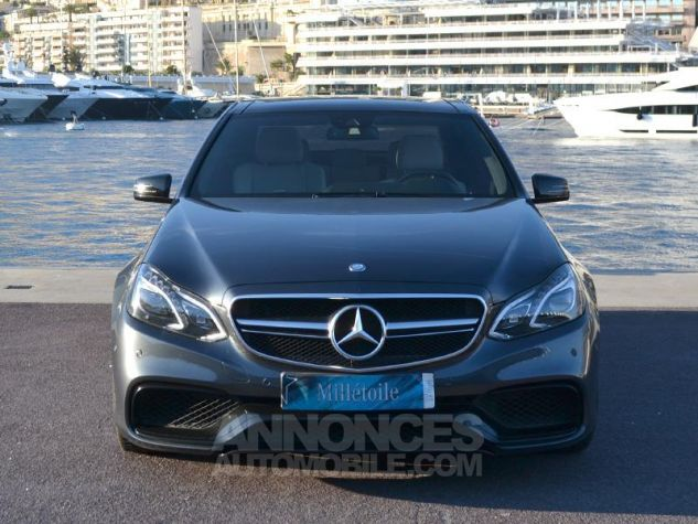 Mercedes Classe E 63 AMG S 4Matic 7G-Tronic Plus Gris Ténorite Occasion - 1