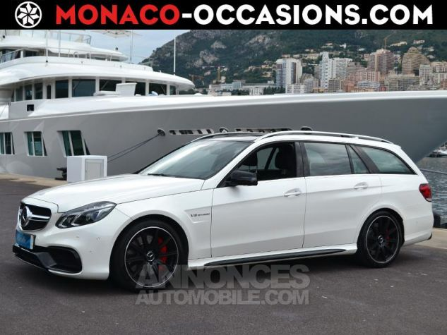 Mercedes Classe E Break 63 AMG S 4Matic 7G-Tronic Plus Blanc Diamant Occasion - 0