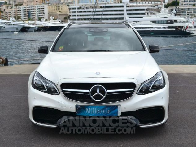 Mercedes Classe E Break 63 AMG S 4Matic 7G-Tronic Plus Blanc Diamant Occasion - 1